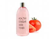 Тоник для лица Real Skin Healthy Vinegar Skin Tomato для жирной кожи 300мл