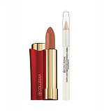 Косметический набор Collistar Vibrazioni Di Colore Lipstick 37 + Proof Lip Contour Pencil
