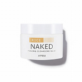 Скраб для лица A'PIEU Naked Peeling Cleansing Balm Rice очищающий бальзам 45г