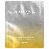 Маска для лица Missha Super Aqua Cell Renew Snail Hydro Gel Mask регенерирующая гелевая 28г